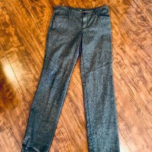 Eddie Bauer wool blend straight leg pants